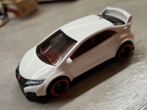 DTW88-Plastic Tire TYPE-R Hot Wheels 2017 Unspun Unrivet Proto HONDA CIVIC FK2R