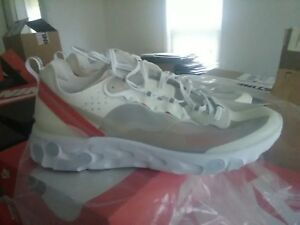 75f67c08e6413 Nike React Element 87 Light Bone Sail AQ1090-100 New Authentic Size ...
