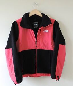Women-039-s-The-North-Face-Black-amp-Pink-Full-Zip-Pink-Jacket-Size-XS