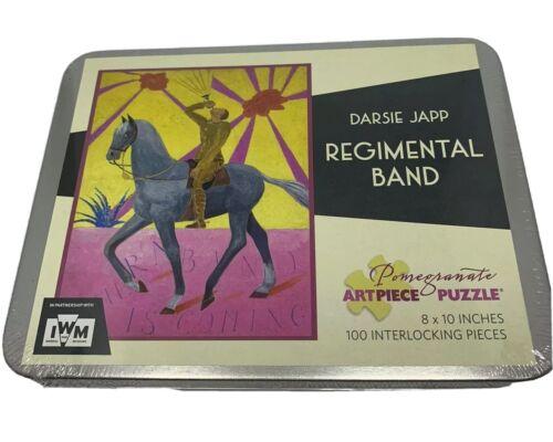 Pomegranate Art Piece Puzzle Darsie Japp Regimental Band 100 Pieces in Tin NEW