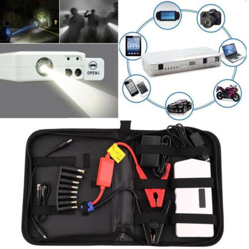 18000mAh Portable Jump Starter Car Battery Charger Mini Power Bank LED Light EM!