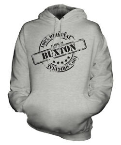 compleanno 50 Buxton Felpa In Donna da Regalo con Unisex compleanno di uomo Made ° cappuccio B6pawfxq