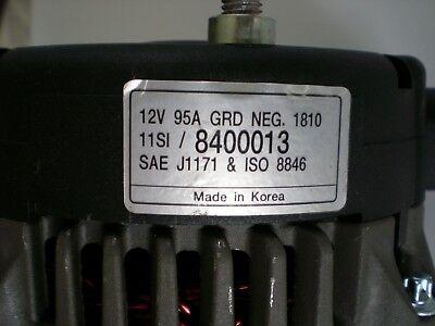 NEW ALTERNATOR FITS VARIOUS INDMAR MARINE ENGINES 20827 8400111 8600002 18-6451