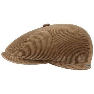 a7e51061b Details about Stetson Hatteras Classic Corduroy Flat Cap Men Caps cotton  cap newsboy