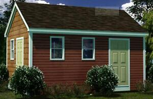 12x18 Shed Plans- How To Build Guide - Step By Step - Garden / Utility / Storage Petit Profit