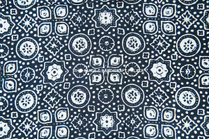 Indian-Printed-Rayon-Fabric-Crafting-Dressmaking-Sewing-Material-By-The-Yard