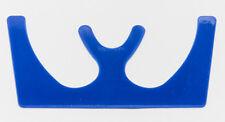 DENTAL OCCLUSAL MAXILLARY CASTING PLASTIC FOX PLANE - BLUE AUTOCLAVABLE NEW