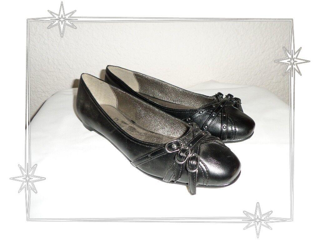 schön schwarze Ballerinas Les P'tites Bombes lpb Größe 36