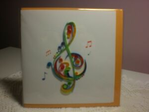 Quilling-Cards-LLC-3D-Treble-Clef-Note-Card