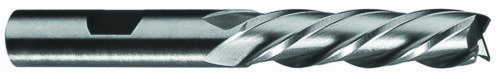 "3//4 x 3//4/"" Shank 4F Cobalt Steel Center Cutting Single End Mill Long"