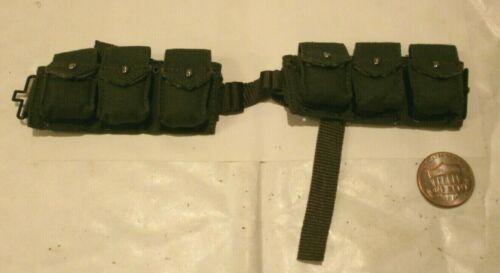 Alerte ligne USMC BAR Munitions Ceinture échelle 1//6th Jouet Accessoire