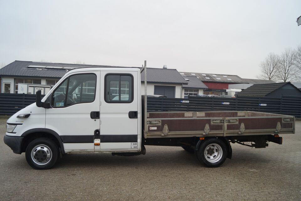 Iveco Daily 3,0 35C14 Mandskabsvogn Diesel modelår 2005