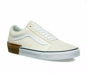 Classic White Cream Mens Skate Shoes US