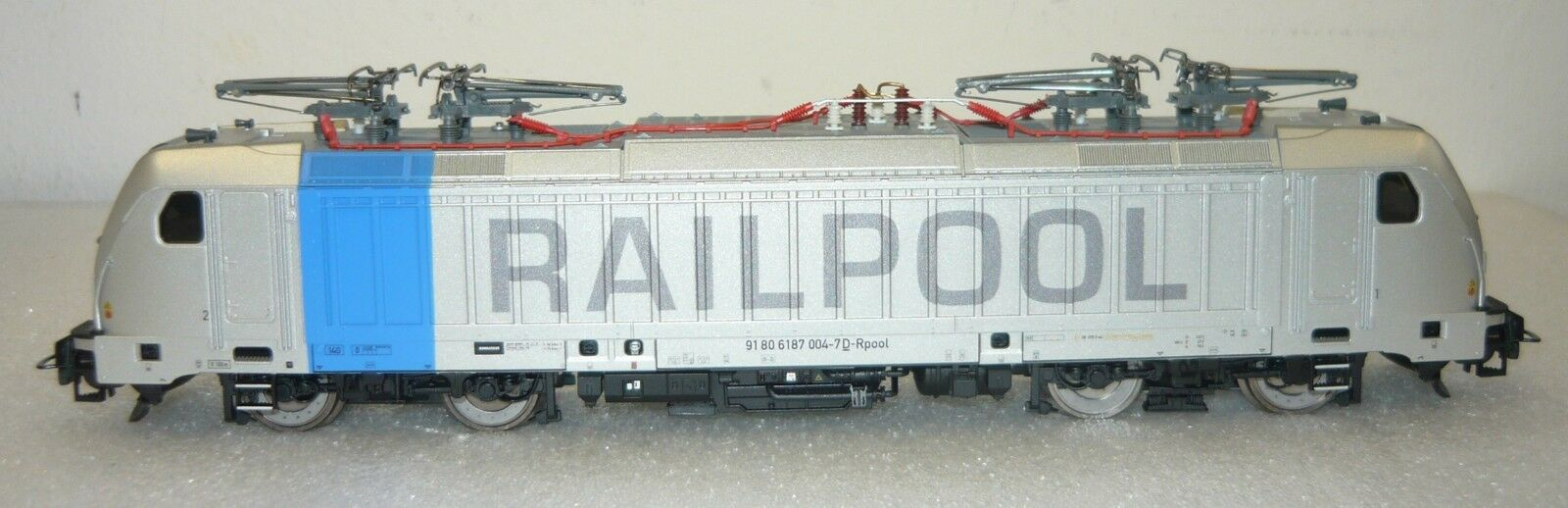 Piko 51564-2, ellok br 187  railpool , dig., plux22, Loksound, EP. vi, h0, neu&ovp