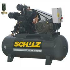 New Schulz 20 Hp Piston Air Compressor 20120hlv80br 9347452 0 Three Phase