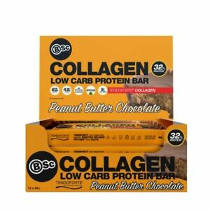 Body Science Collagen Low Carb Protein Bars 12 X 60g Bars Ebay