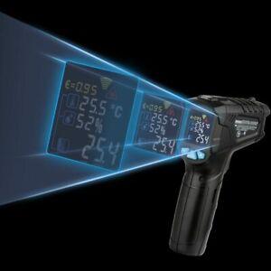 Digital-Infrared-Thermometer-Laser-Temperature-Gun-Colorful-LCD-Screen-Pyrometer