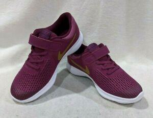 Nike Revolution 4 (PSV) Tea Berry/Gold