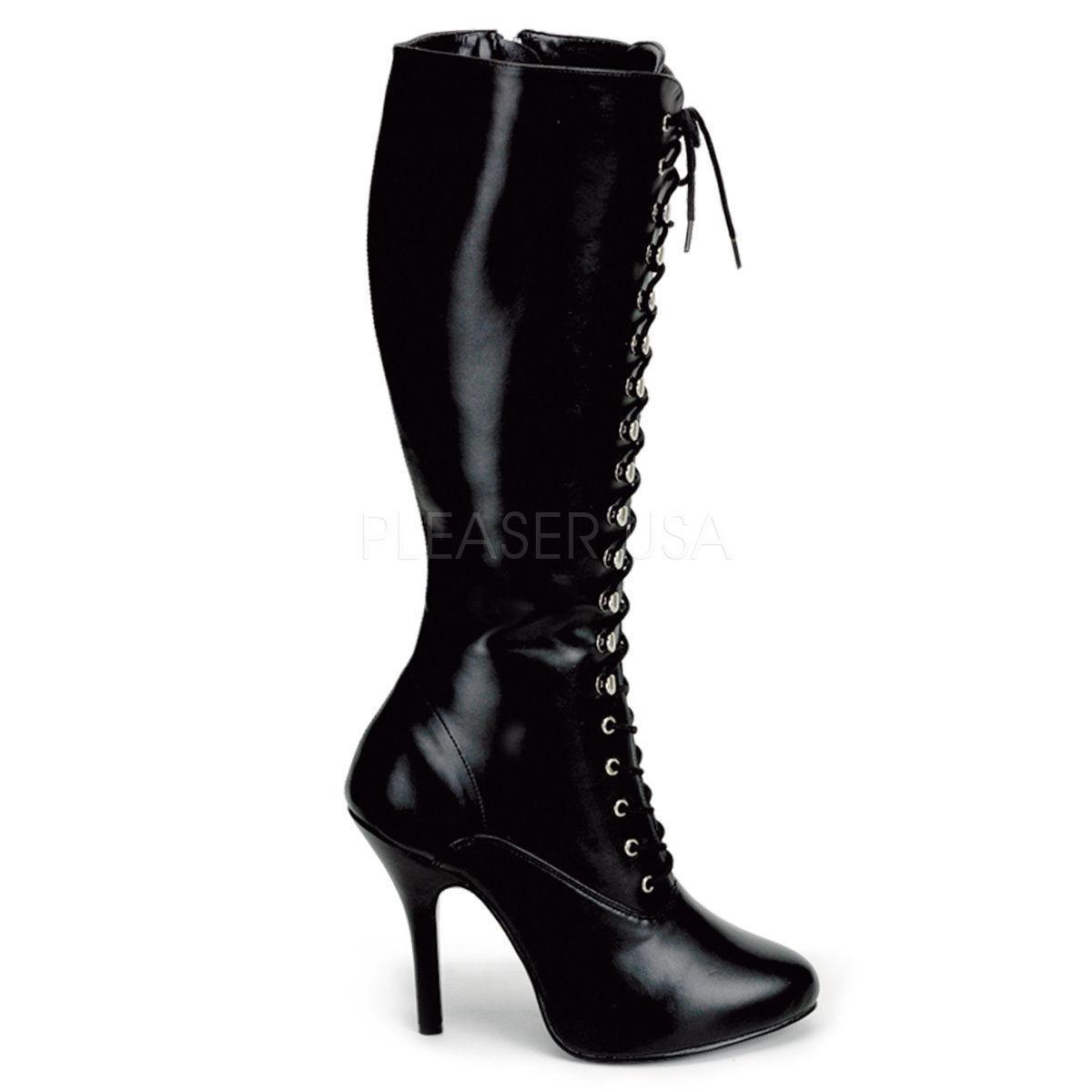 Venta de liquidación de temporada Grandes zapatos con descuento Arena - 2020 prenda Funtasma tacón alto botas negro efecto piel tamaños 36-43