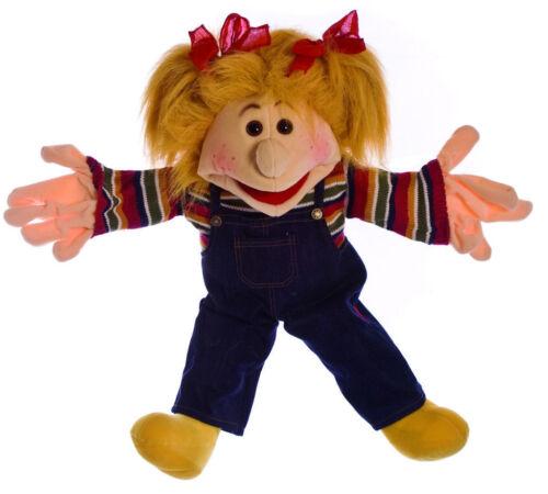 XXL Handpuppe 65cm Mädchen Maja Living Puppets Bauchrednerpuppe Therapiepuppe