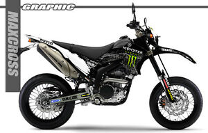 YAMAHA WR250R WR250X ALL YEARS MAXCROSS GRAPHICS KIT DECALS STICKERS ...