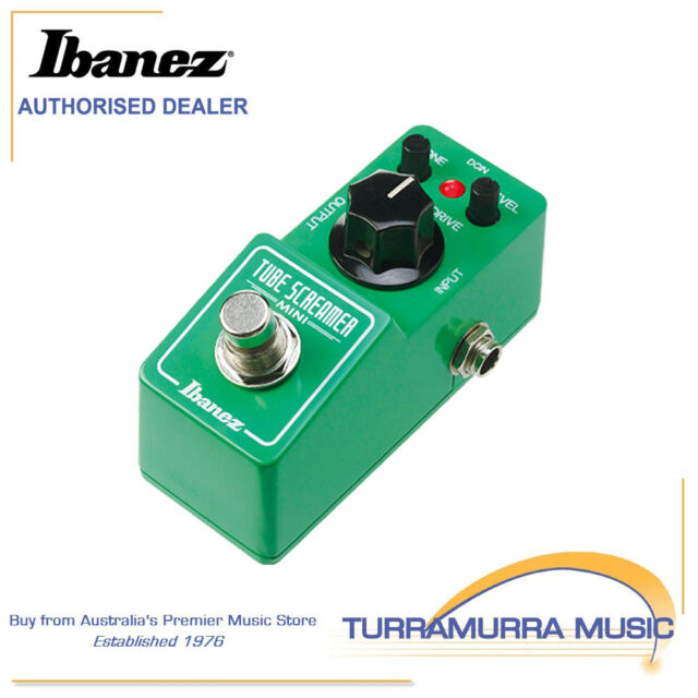 Ibanez TS Mini Tube Screamer Mini - Overdrive Guitar Effects Pedal Tubescreamer