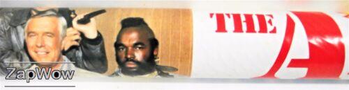 A-Team Poster Art Set 1983 trois grandes Coloration photos Hannibal Monsieur T 1980 S