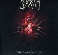 Sixx: A.m., Sixx:a.m. - This Is Gonna Hurt [new Cd] Digipack Packaging on Sale