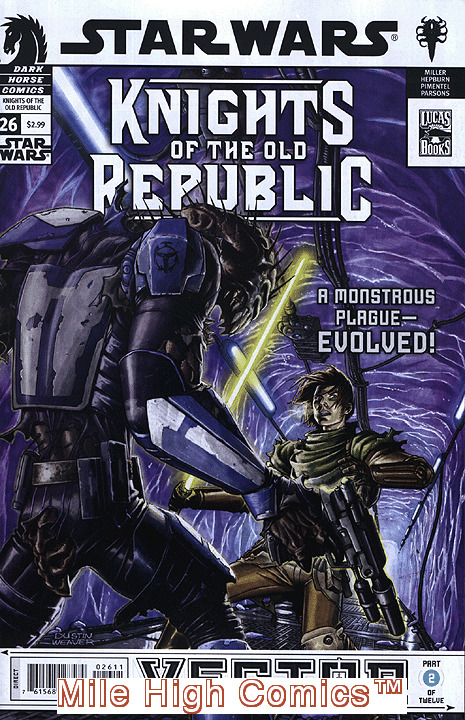 STAR WARS: KNIGHTS OF THE OLD REPUBLIC (2005 Series) #26 Very Fine Comics Book