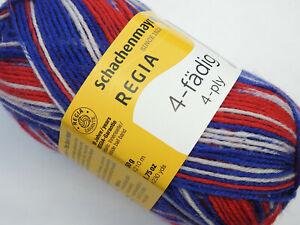 8,00€//100g *4-fädig* 4 fach Regia Sockenwolle 50g Farbe 9388