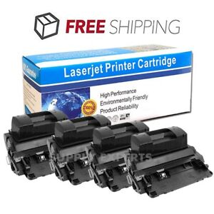 4PK 81X CF281X Toner Cartridge For HP LaserJet Enterprise MFP M630z M606x M605n