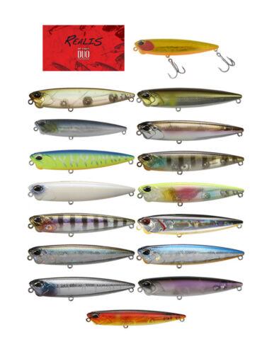 Duo Realis Pencil 85 Topwater Bait Select Colors Bass Fishing Lure Bait