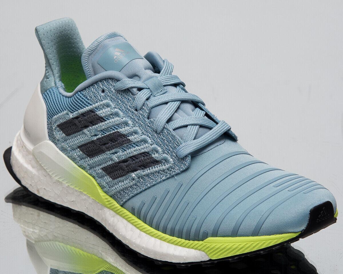Adidas Solar Boost Women's New Ash Grey Onyx Hi-Res Yellow Running shoes B96285
