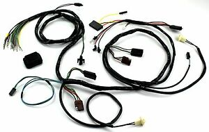 mustang head light wiring harness w/o tach 1969 - alloy ... 1969 mustang 302 wiring diagram schematic 1969 mustang headlight wiring diagrams
