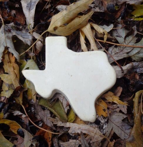 "Texas mold plaster cement resin wax casting mould 3.5/"" x 3.75/"" x 1//3/"" thick"