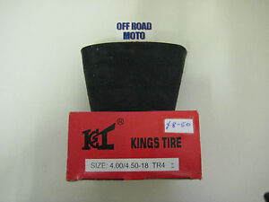 Kings-Tyre-Trials-Bike-Rear-Inner-Tube-4-00x18-VERY-GOOD-QUALITY-STRONG-NEW