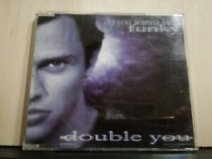 DOUBLE-YOU-DO-YOU-WANNA-BE-FUNKY-THAT-039-S-THE-WAY-LOVE-IS-CD-s-PROMO-1998