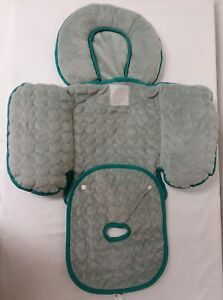 Image Is Loading Infant Baby Car Seat Gray Body Support Insert