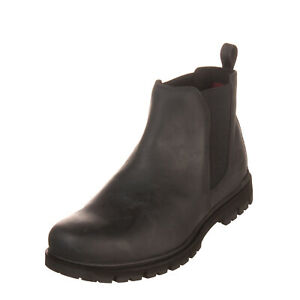 RRP-140-TIMBERLAND-Leather-Chelsea-Ankle-Boots-EU-44-UK-9-5-US-10-Gripstick-Sole