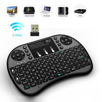 Backlit Mini i8 2.4GHz Wireless Keyboard Touchpad for TV Box Android PC