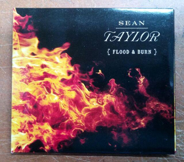 Sean Taylor - Flood & Burn cd album and signed