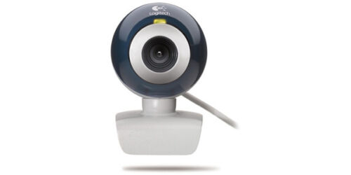 Logitech QuickCam Chat V2 USB Video Webcam Web Camera w//Free Earphone Headset