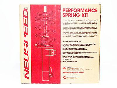 NEUSPEED SPORT LOWERING SPRINGS 96-00 B5 A4 V6 FWD