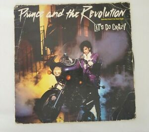 1984 Prince And The Revolution Lets Go Crazy/Erotic City Single 45 Vinyl Record!