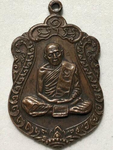 Details about  /PHRA LP TIM ISARIKO RARE OLD THAI BUDDHA AMULET PENDANT MAGIC ANCIENT IDOL#35