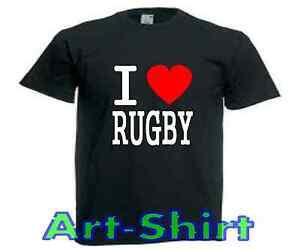 d35c1b523b2bd Chargement de l'image en cours T-SHIRT-personnalise-I-LOVE-RUGBY-fun-sport-