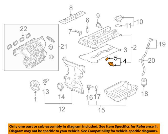 MITSUBISHI OEM 08-16 Outlander 2.4L-L4-Pcv Valve 1035A422