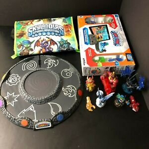Skylander-Lot-Gameboard-Carrier-Case-Figurines-Starter-Pack-USED