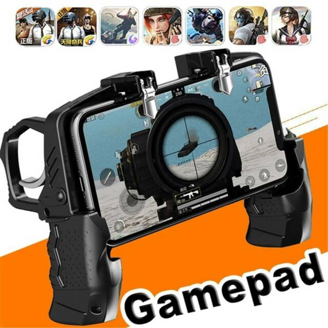 Button Trigger Equipment For PUBG MobileJoystick Gamepad Mobile GameController a