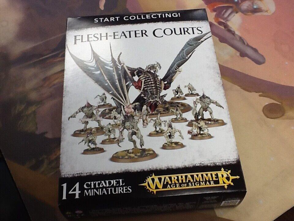 AOS Warhammer Flesh-Eater Courts Start Collecting   NIB